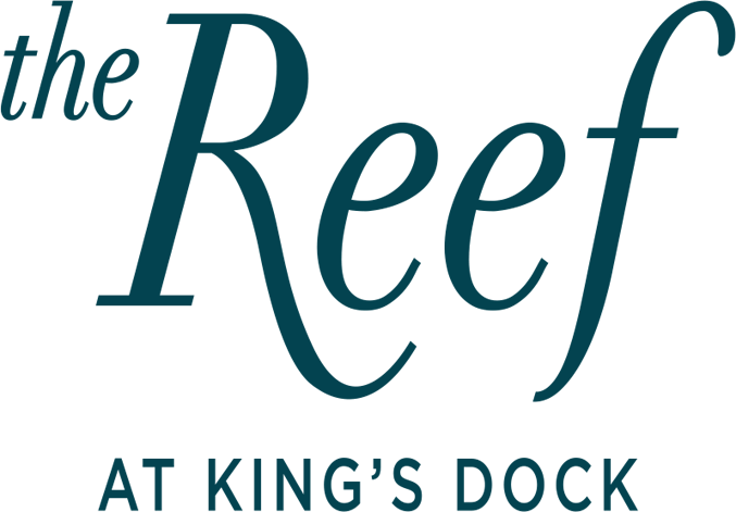 The Reef at King's Dock Logo
