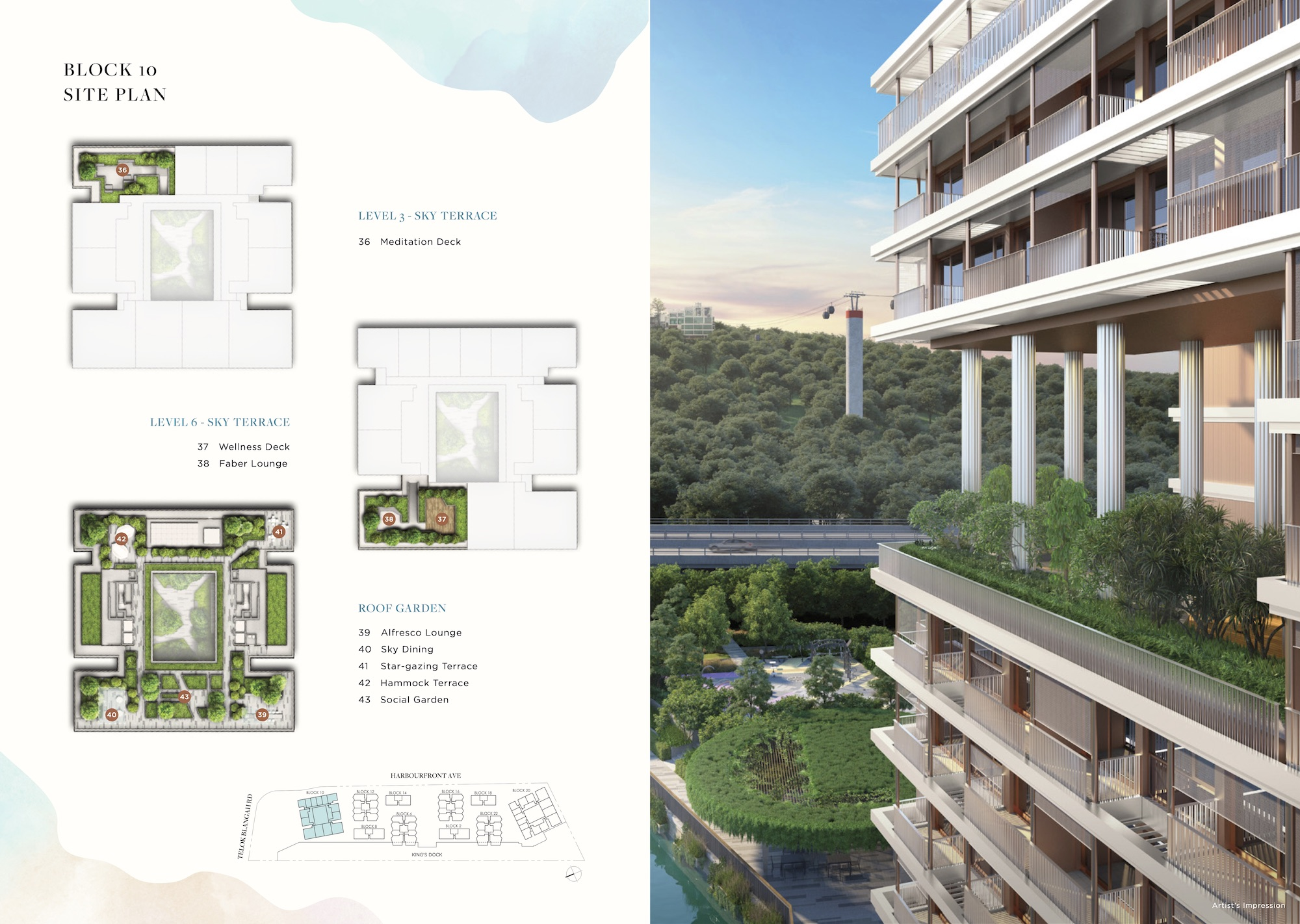 The Reef at King's Dock Site Plan 2